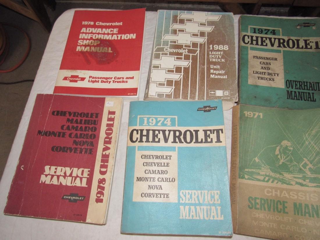 1970's Chevrolet Service & Shop Manuals - 2