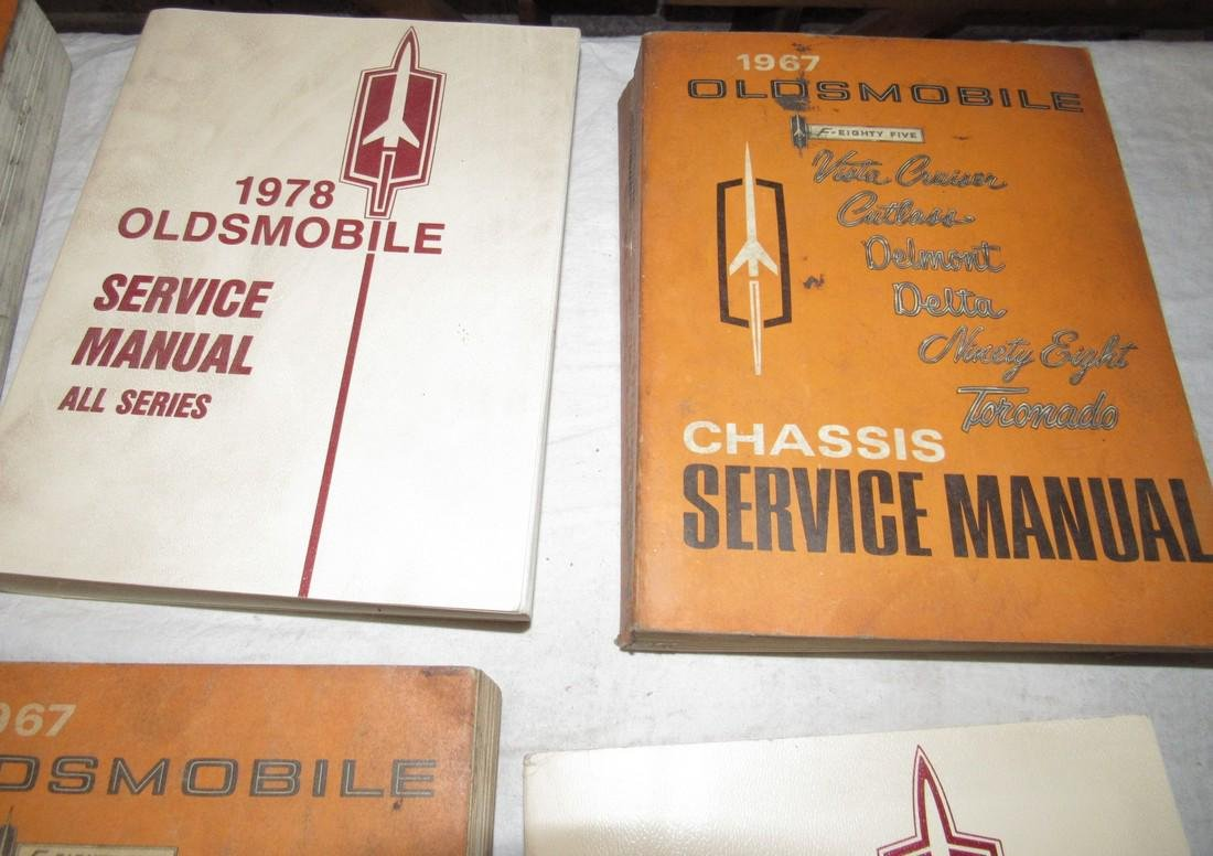 1960's - 1980's Oldsmobile Shop Manuals - 5