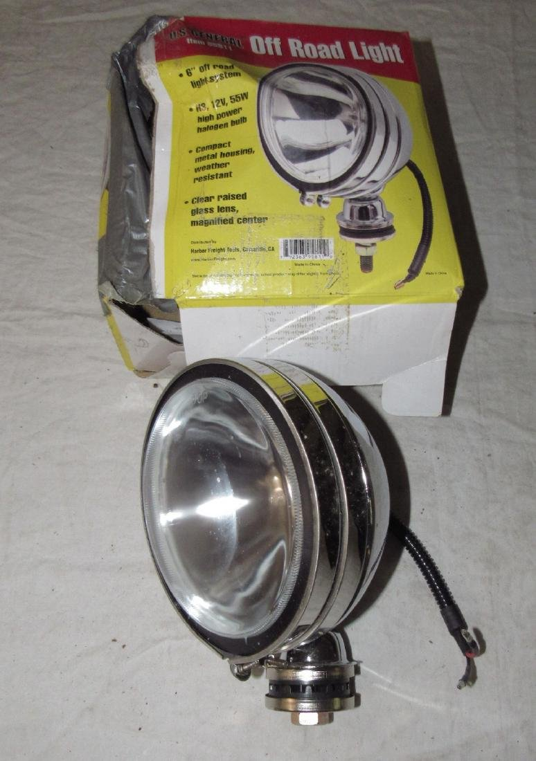 "6"" General Chrome Off Road Light"