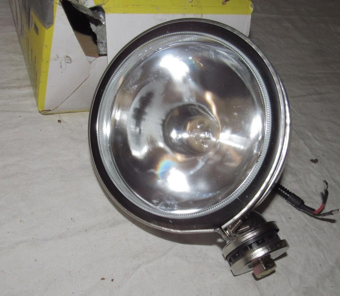 "6"" General Chrome Off Road Light - 2"