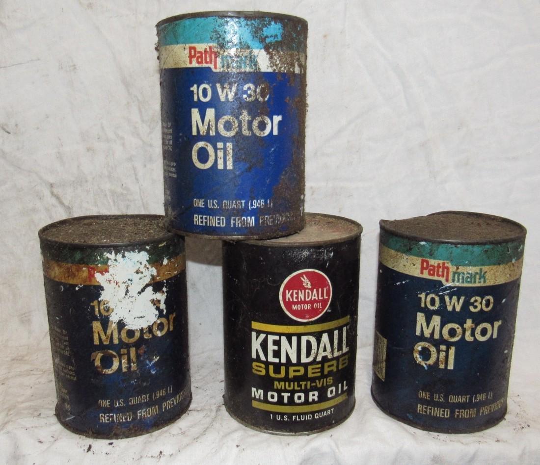 Kendall & Pathmark Motor Oil