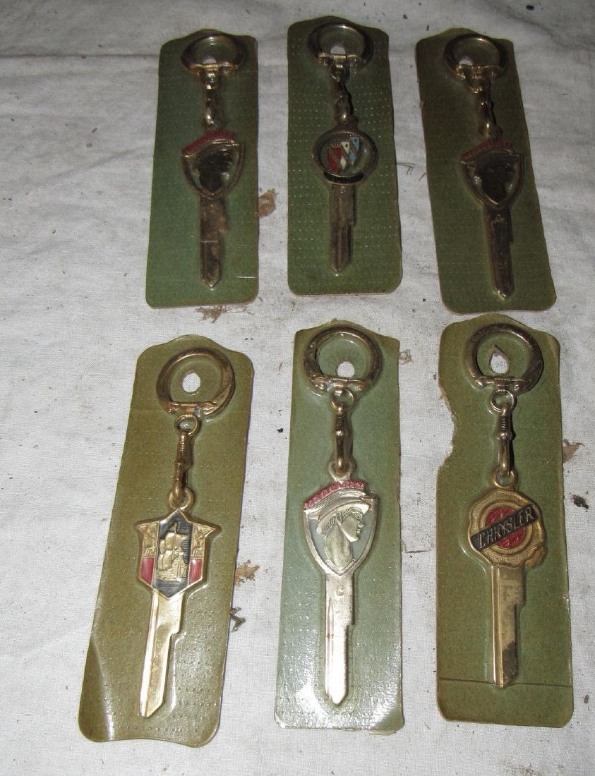 Mercury Buick Chrysler New Old Stock Keys