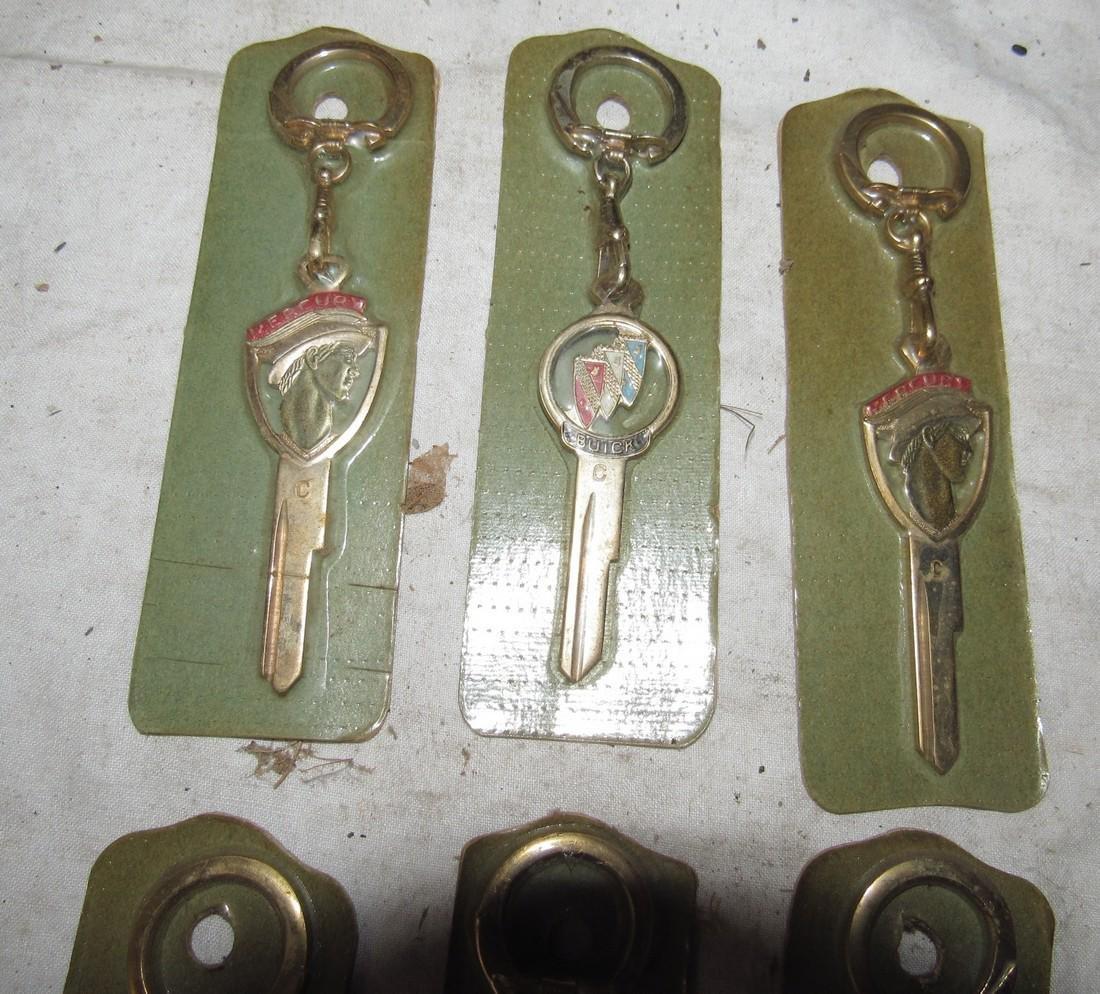Mercury Buick Chrysler New Old Stock Keys - 2
