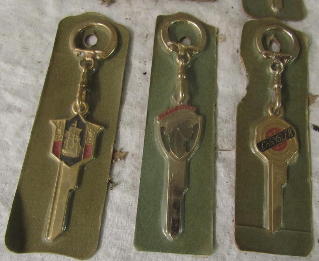 Mercury Buick Chrysler New Old Stock Keys - 4