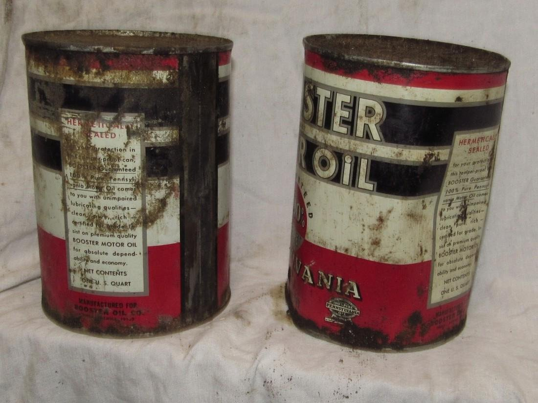 Pennsylvania Motor Oil Cans - 2