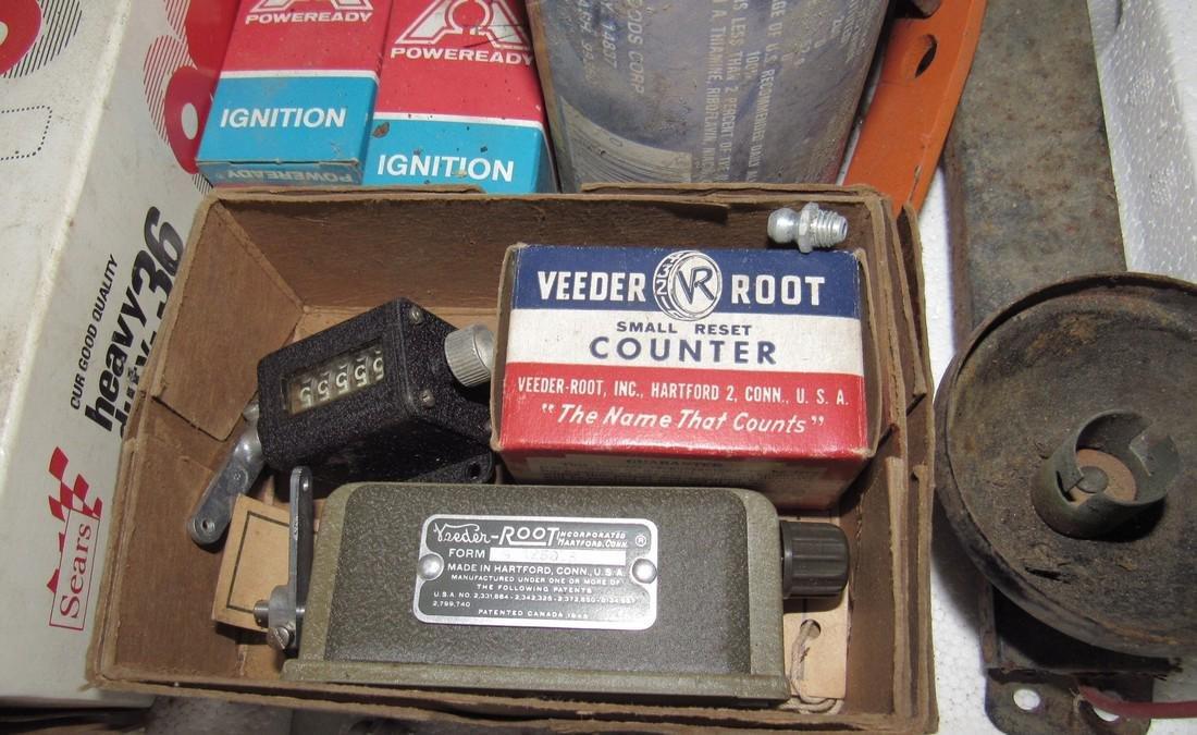 Jeep Shocks Veeder Counter Fuel Filter Ignition Parts - 2