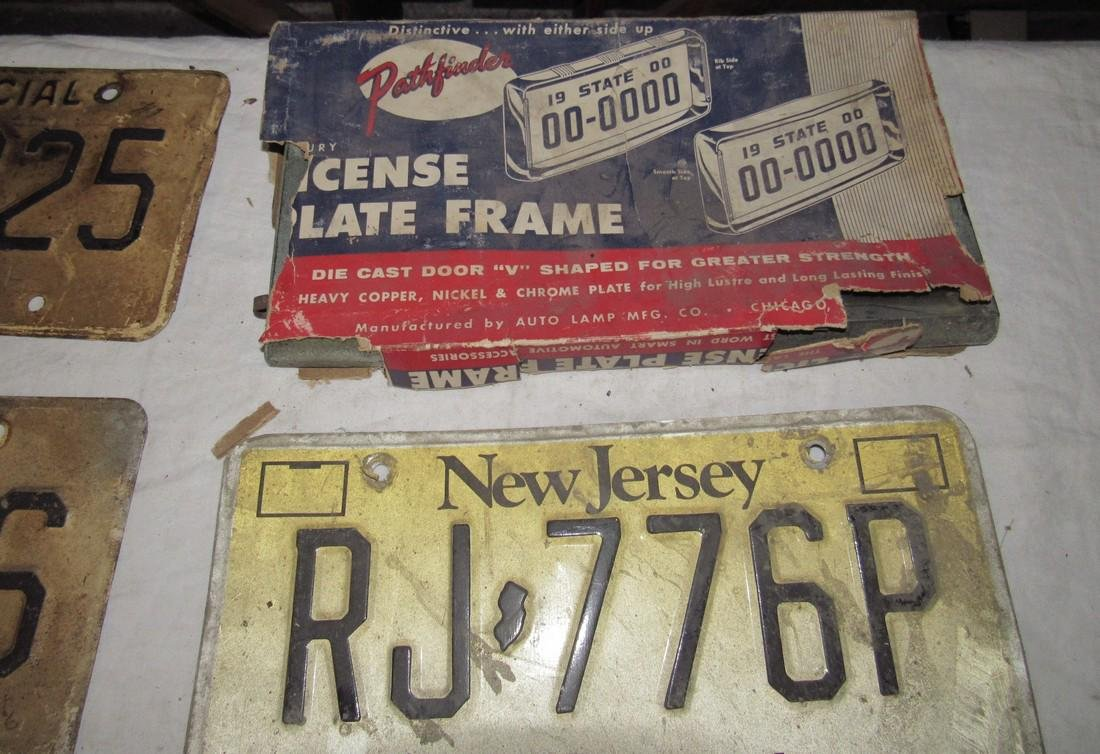 NJ & Arizona License Plates - 2