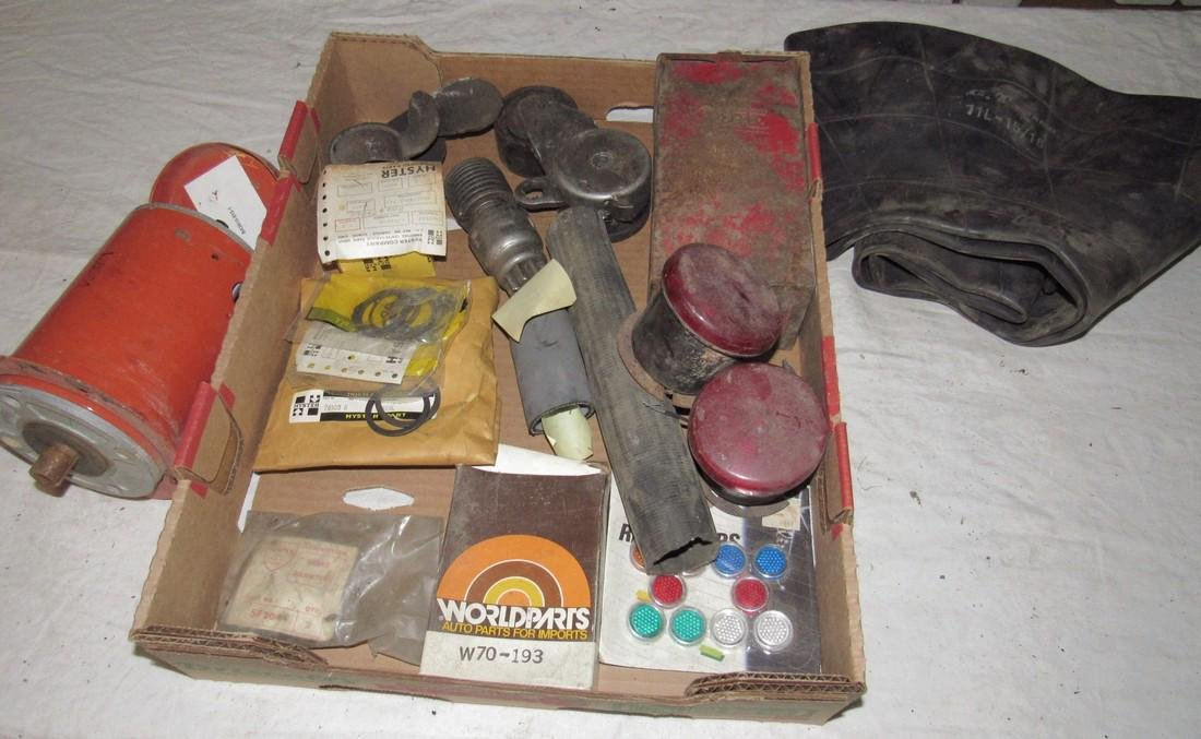 Starter & Misc Box Lot of Parts
