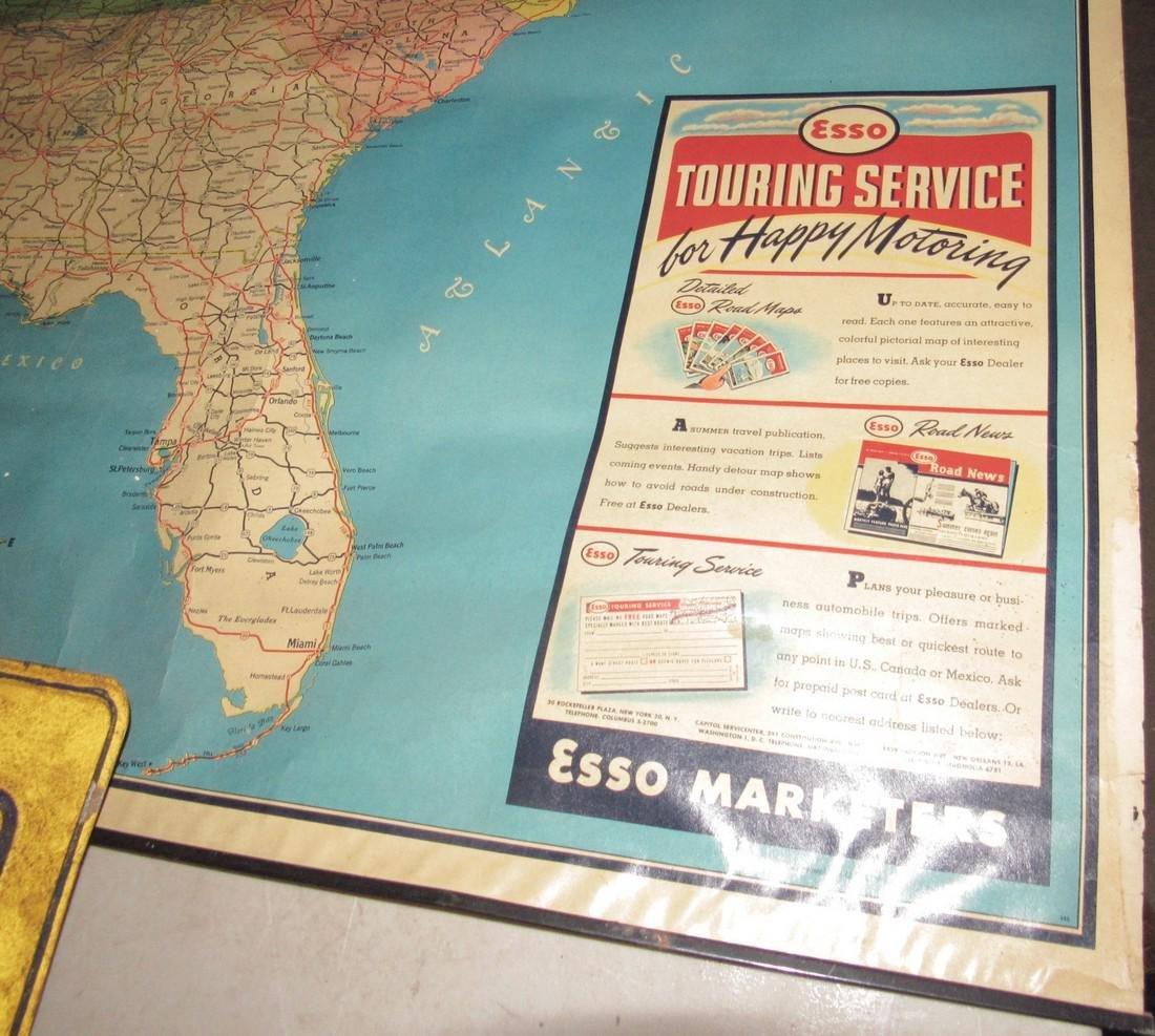 Esso Touring Service Map - 3