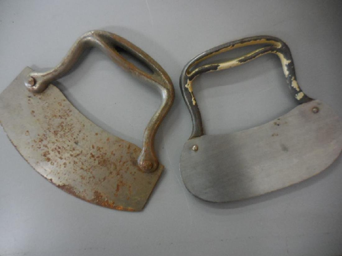 Antique Food Choppers Cutters