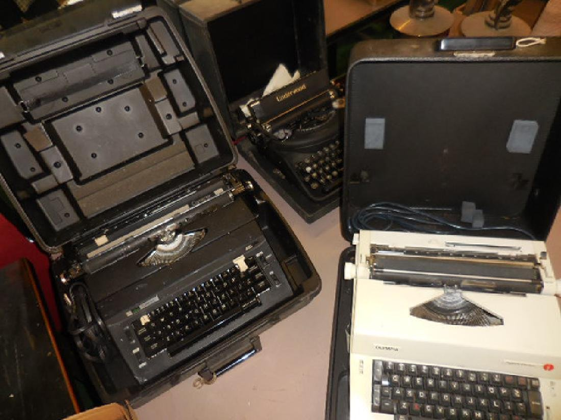Typewriter Lot, Olympia, Underwood