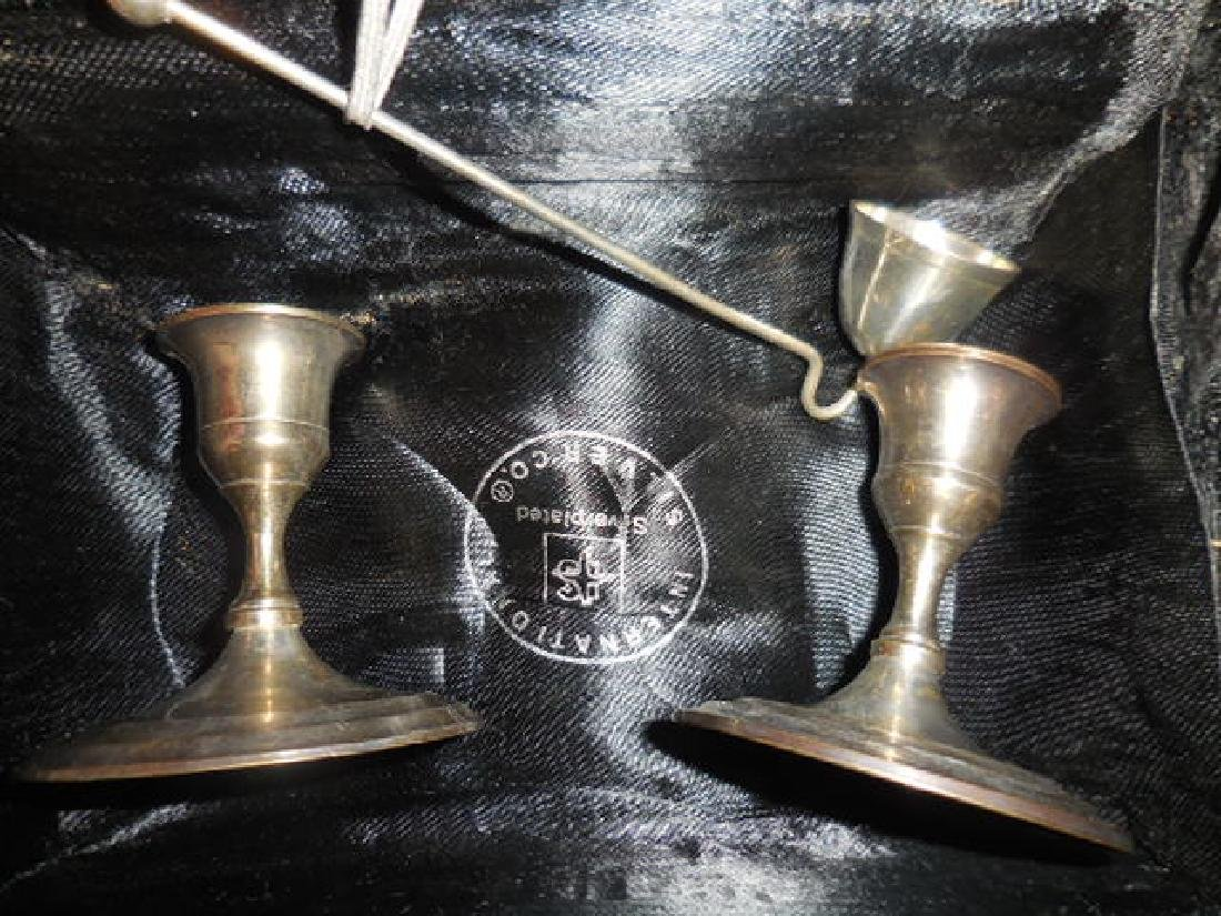 International Silver Co. Candle Holders