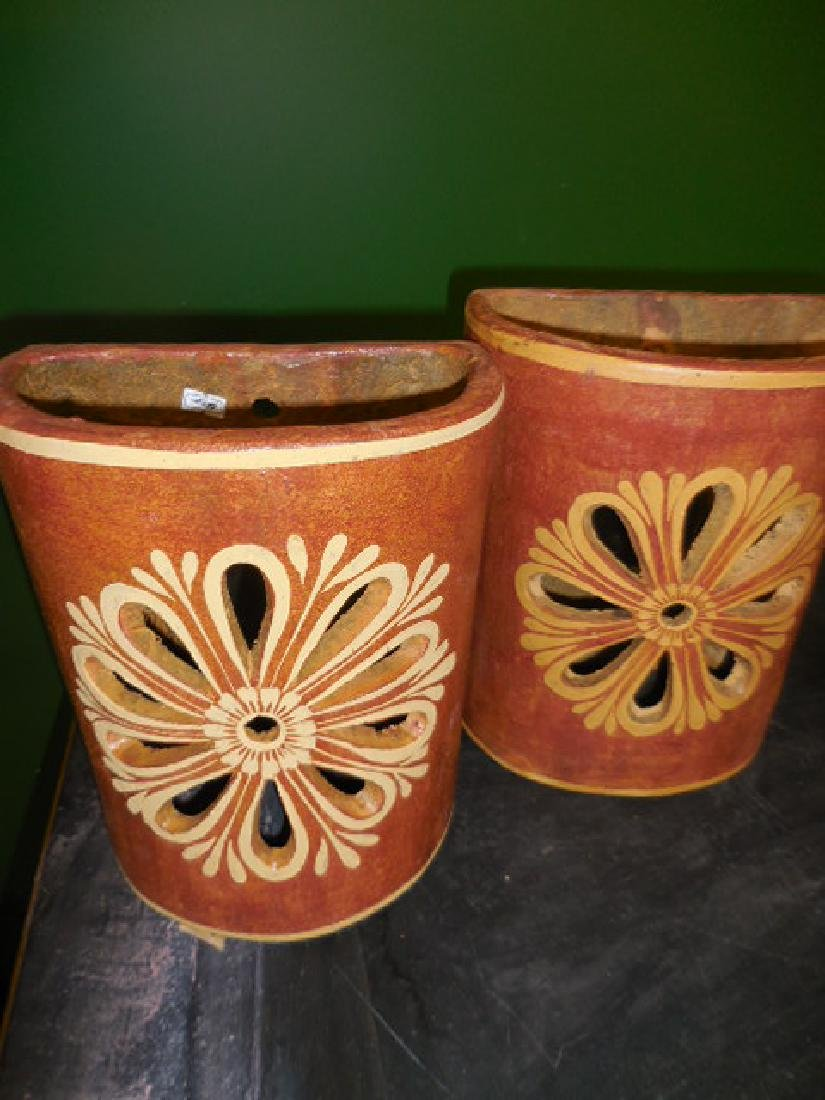 Mexican Pottery Light Covers