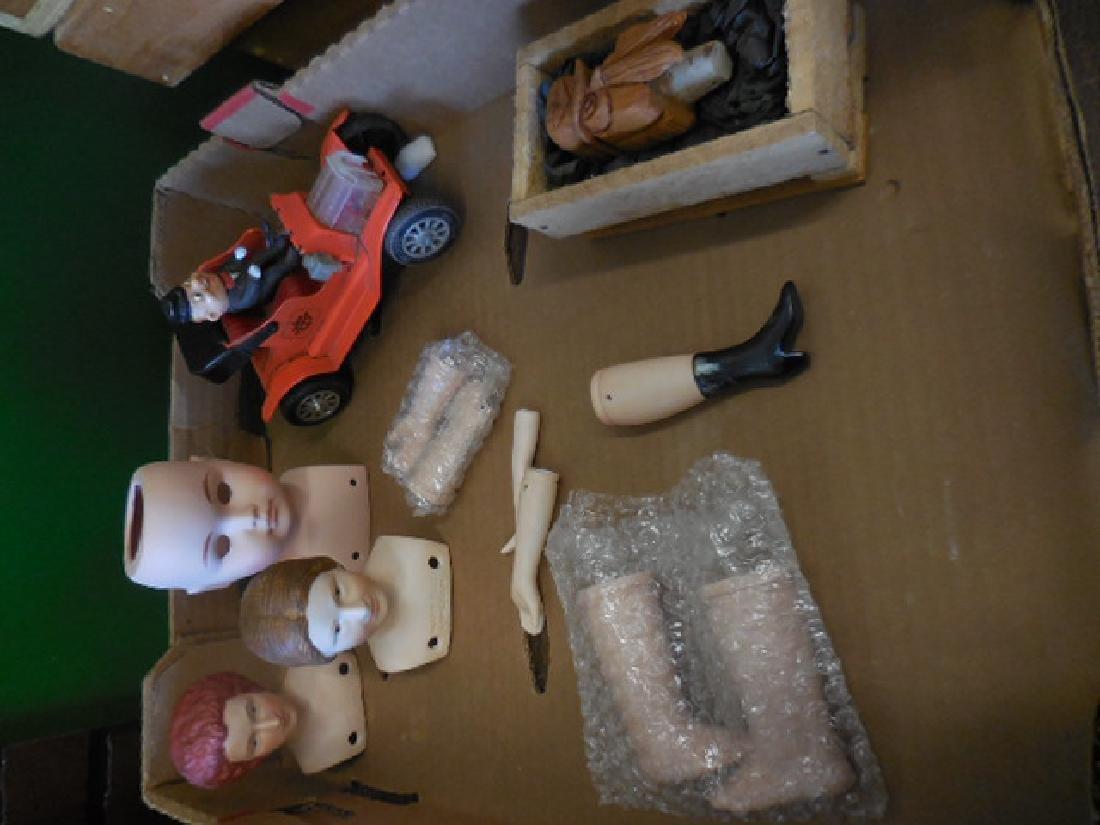 Porcelain Doll Parts