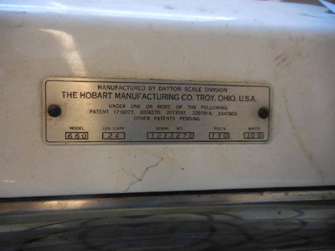 Vintage Hobart Scale - 2