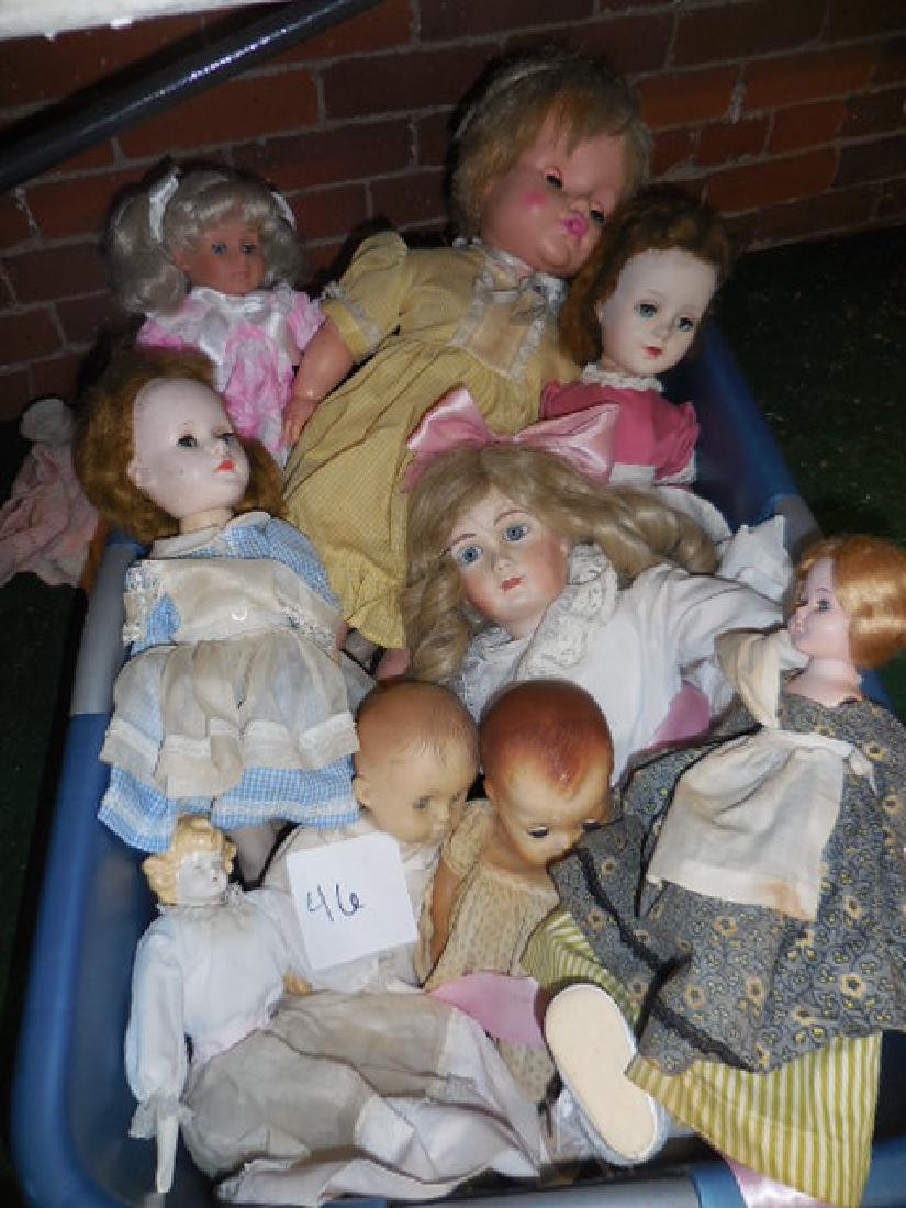 Antique Doll Lot - 2