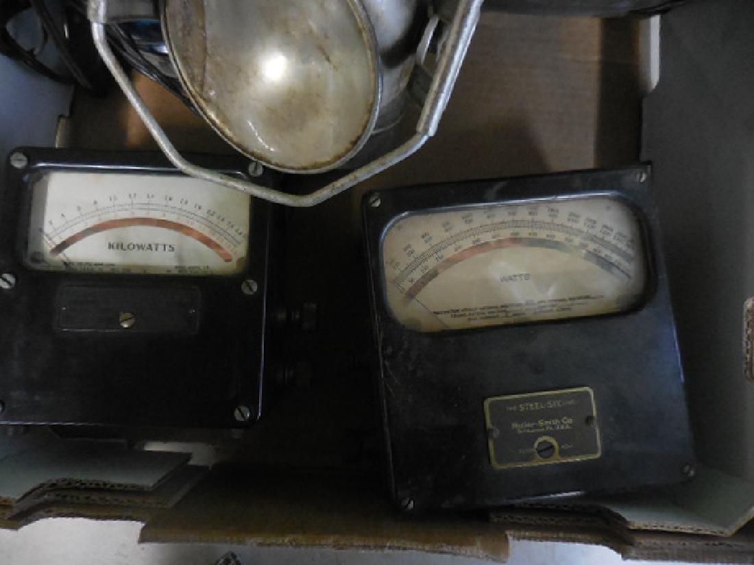 Kilowatts Meter, Siren Light, Lantern - 2