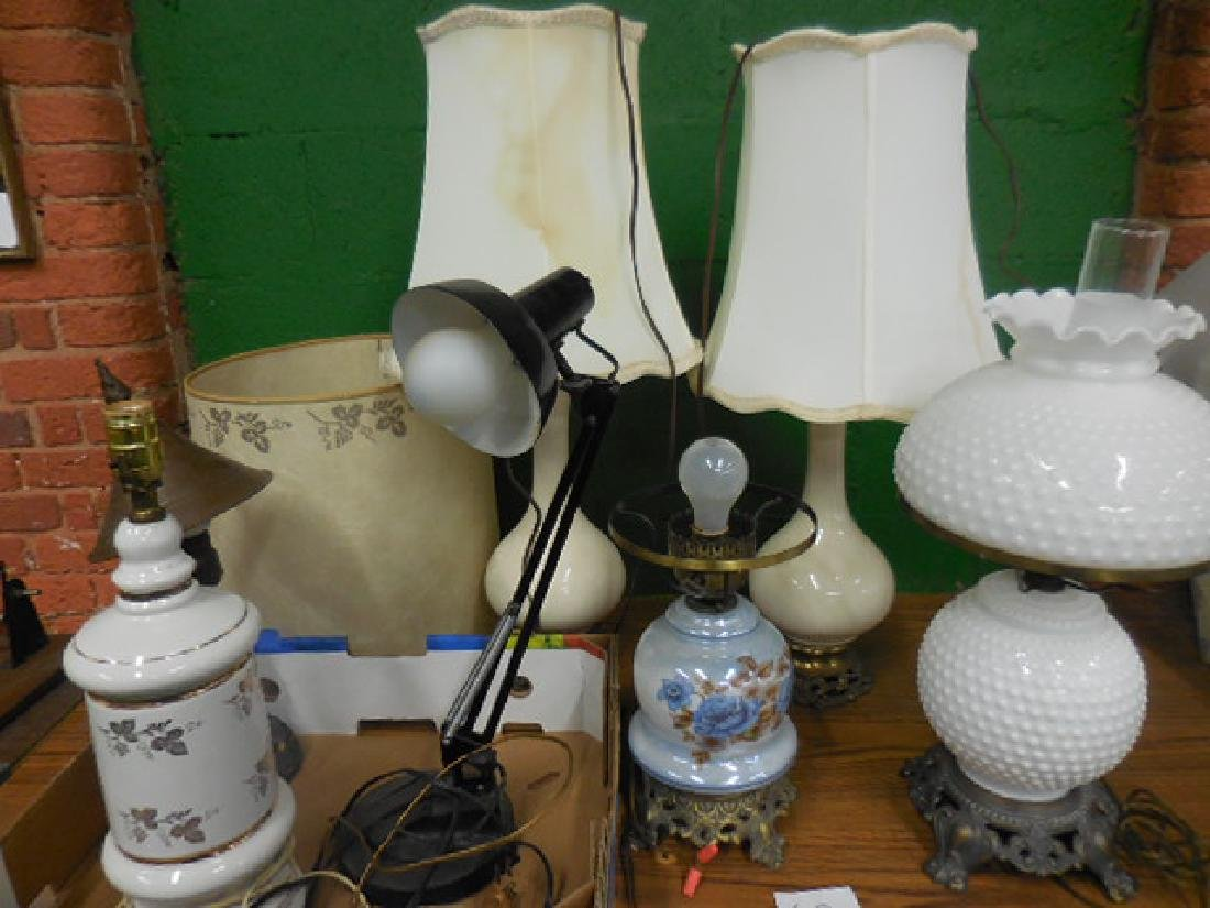 Table Lamp Lot