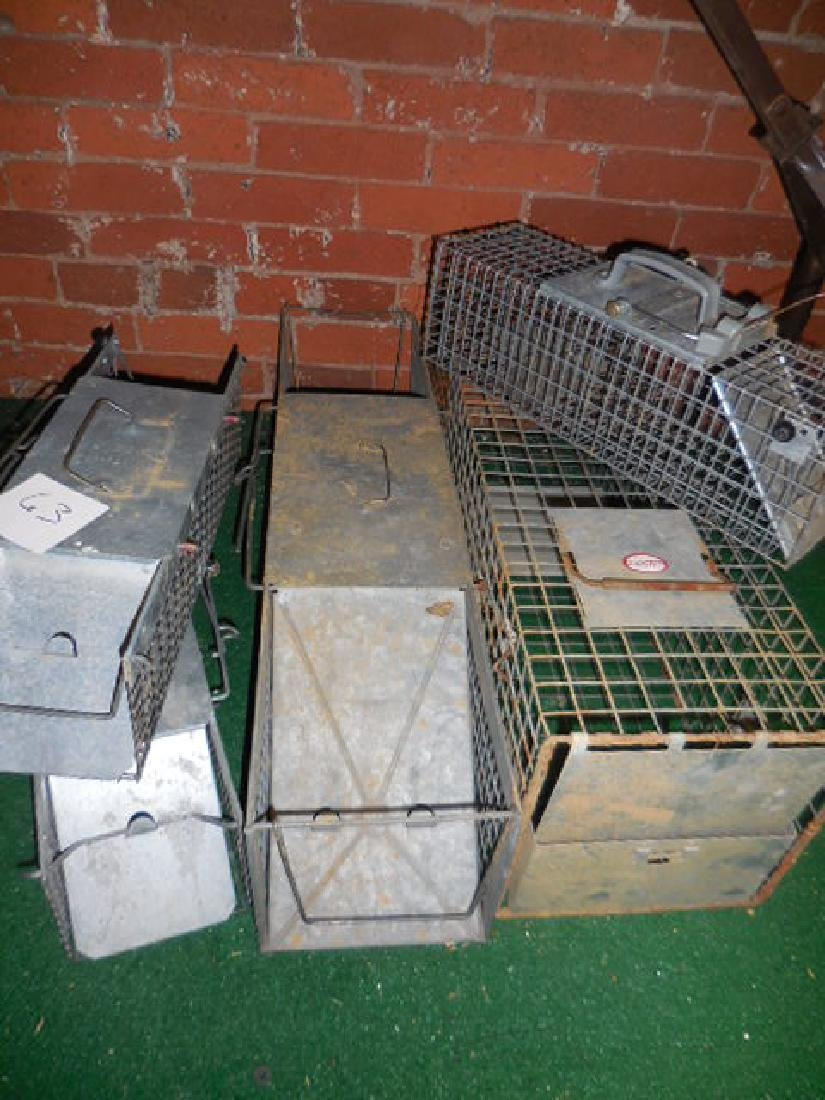Animal Traps, Cages
