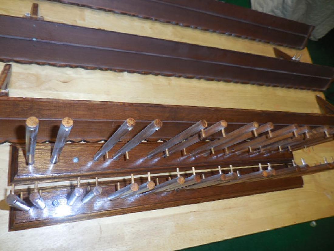 Wood Shelves, Wine Glass Rack - 2