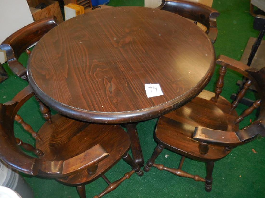 Round Table and Chairs