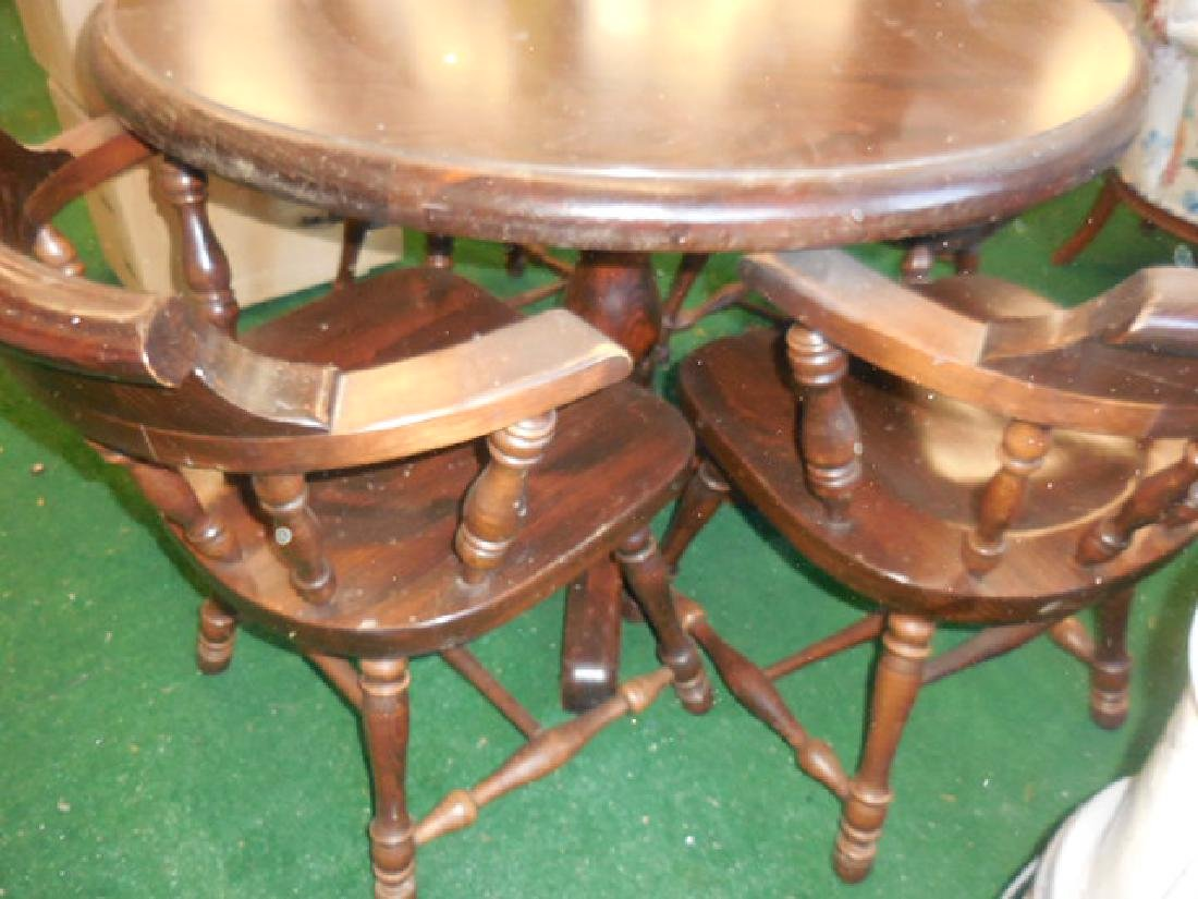 Round Table and Chairs - 2