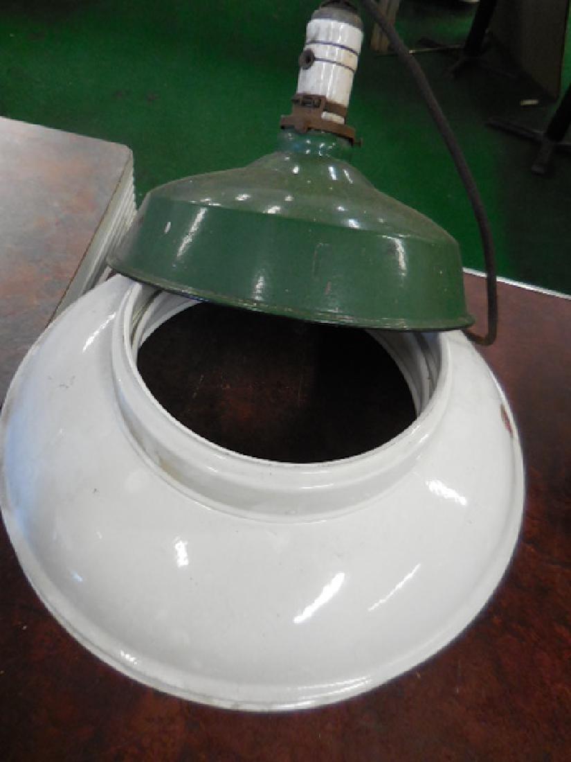 3 Porcelain Lamp Shades