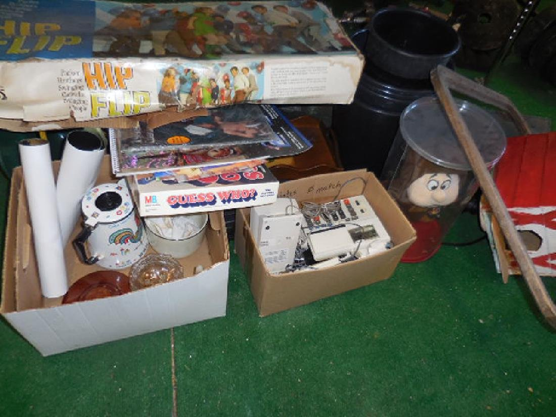 Misc. Table Lot - 6