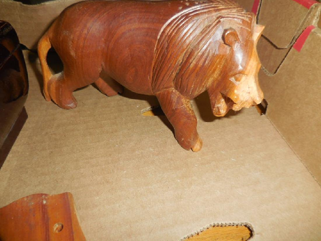 Wood Carved Animals - 2