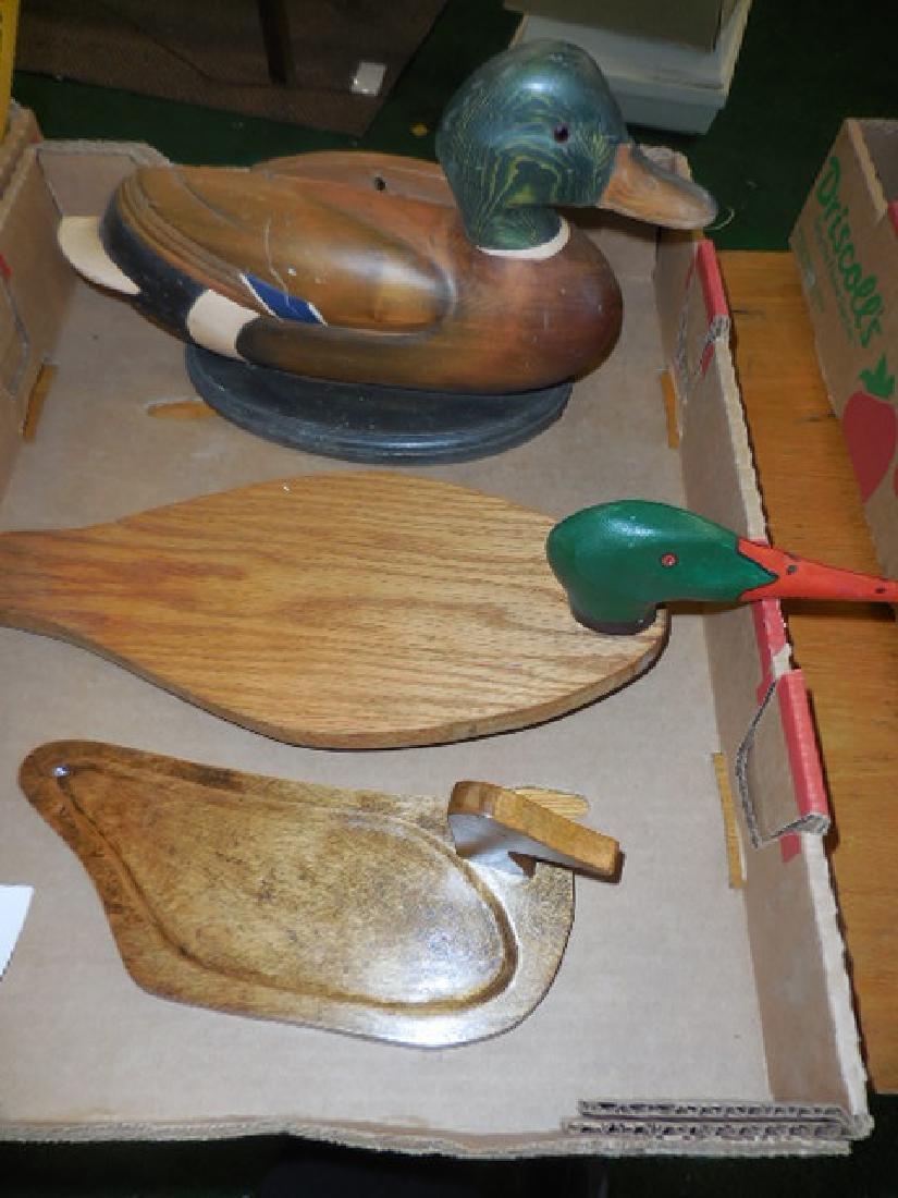Duck Planter, trays