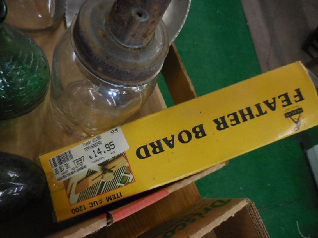 Motor Oil Bottles, Green Bottle Seal - 4
