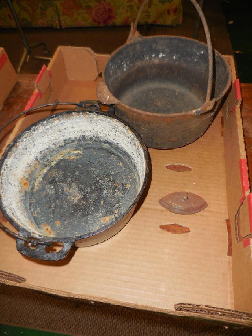 Cast Iron Pots, Sad Iron
