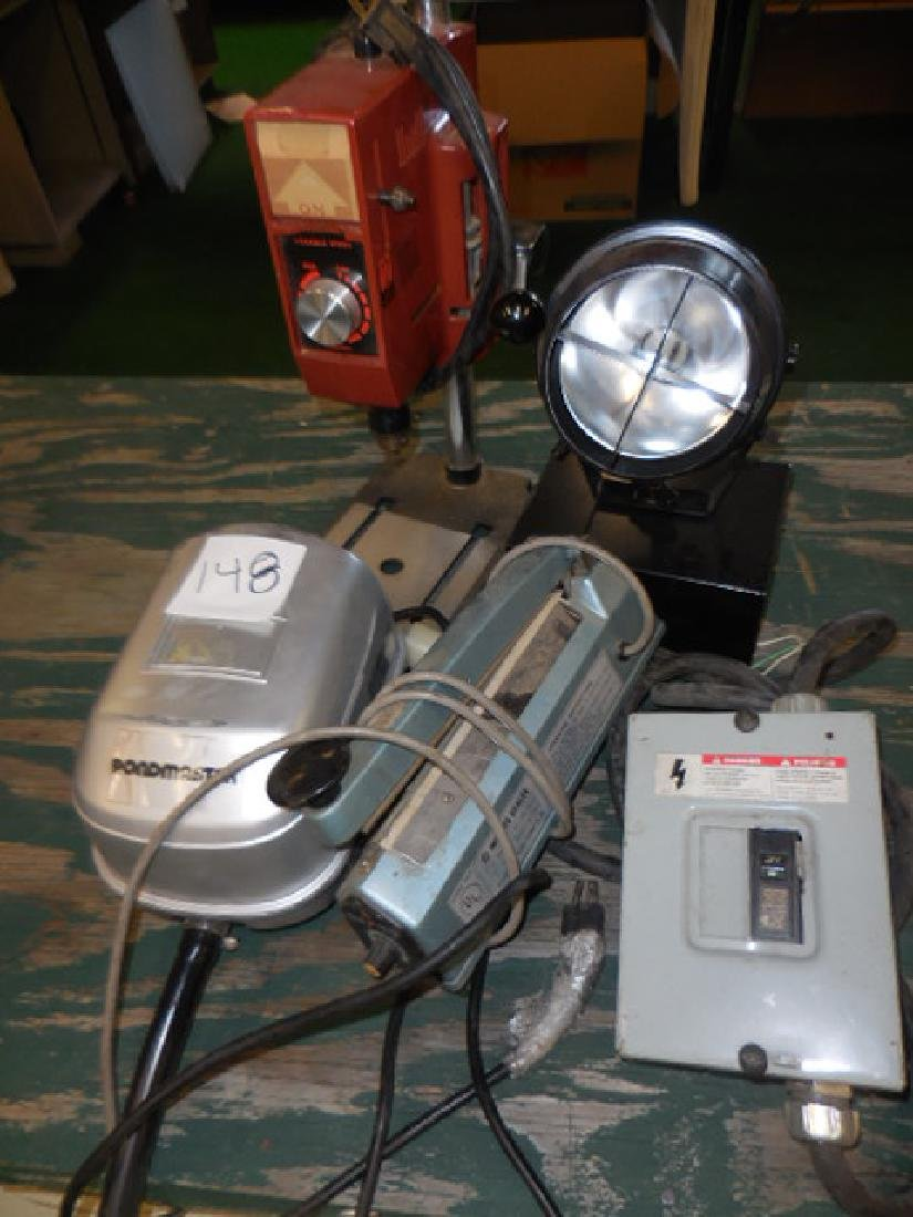 Impulse Sealer, Pond Pump