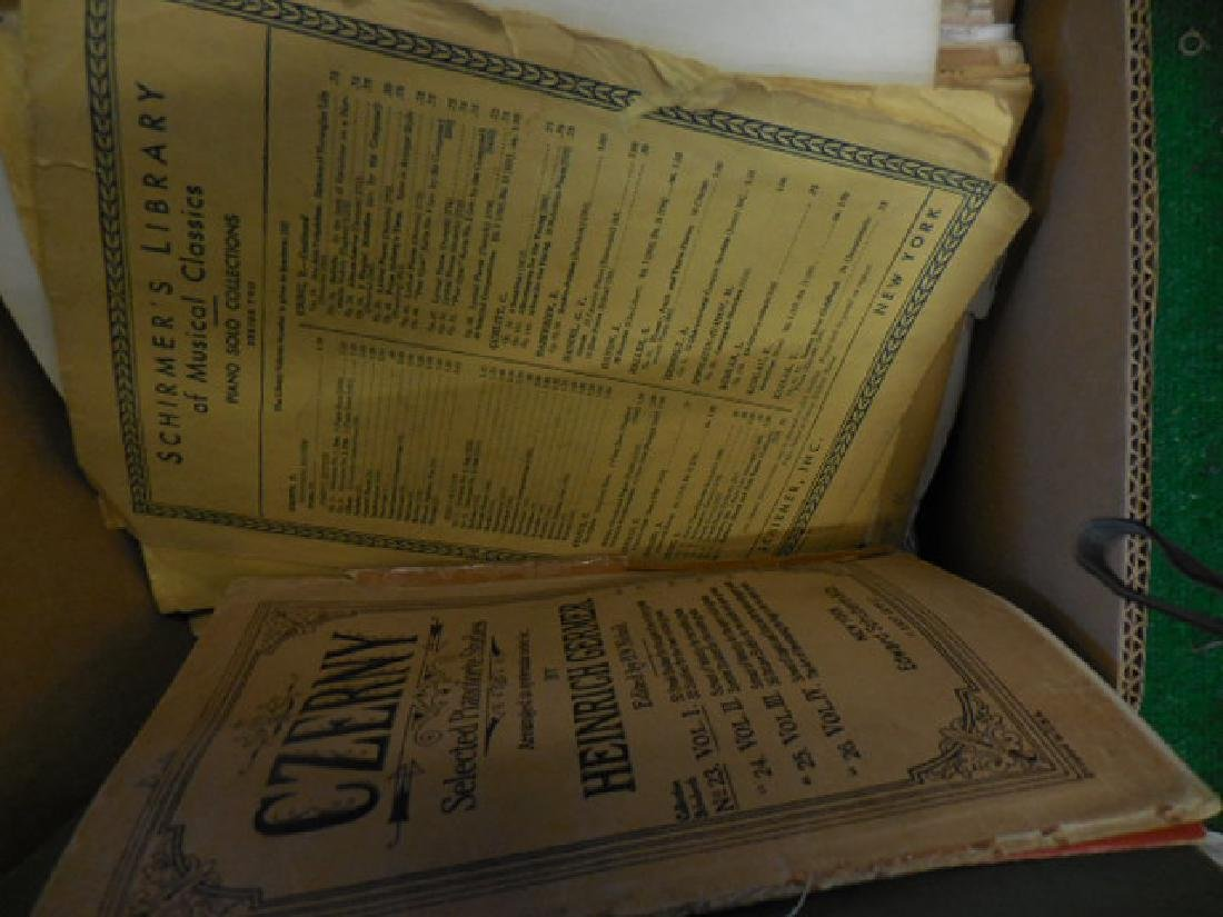 Music Sheets,  Vintage Puzzles - 2
