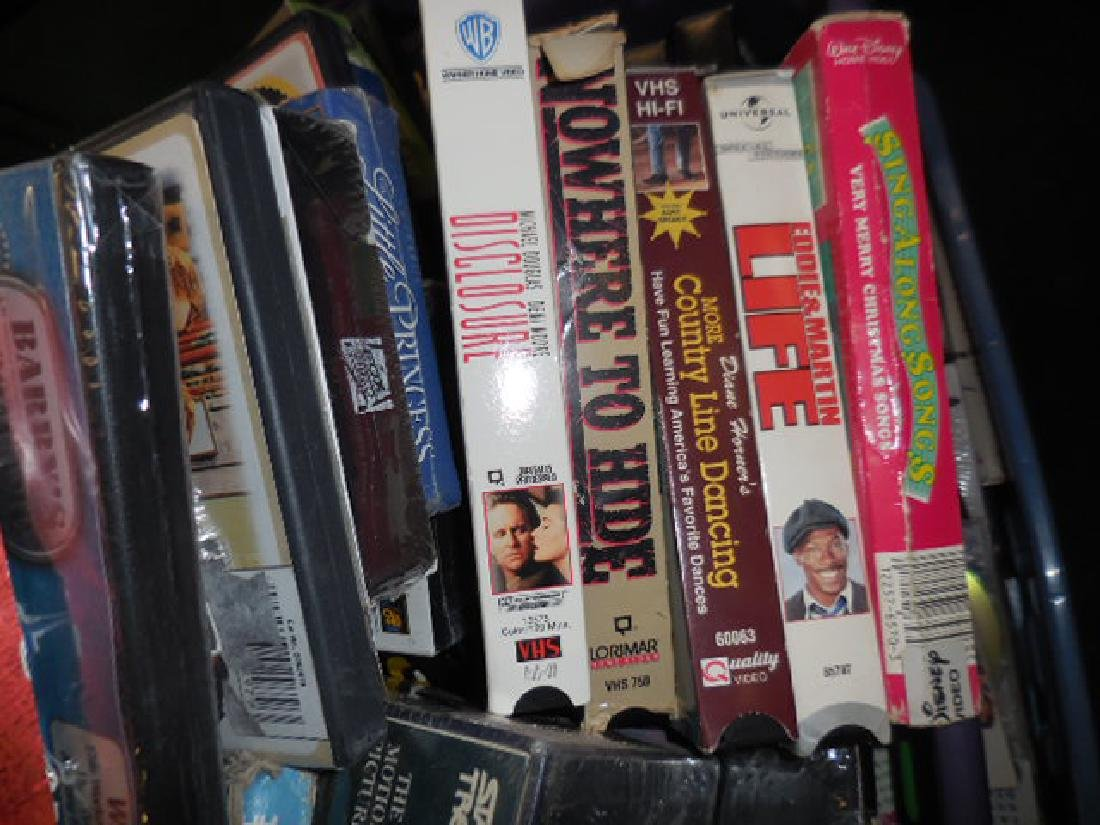 VHS Tapes - 2