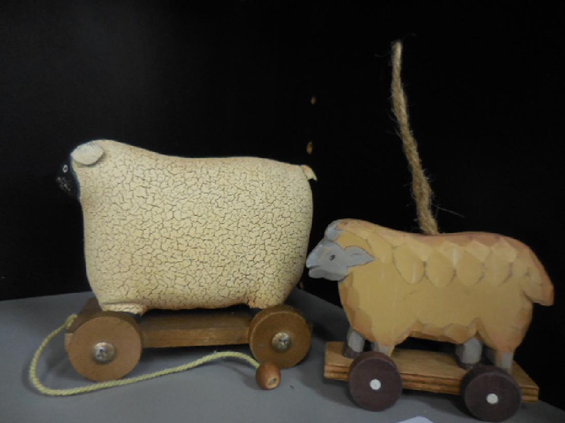 Primitive Sheep Ornaments