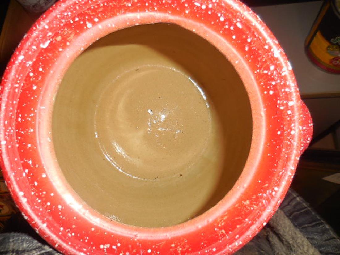 Stoneware Bean Pot Cookie Jar - 2