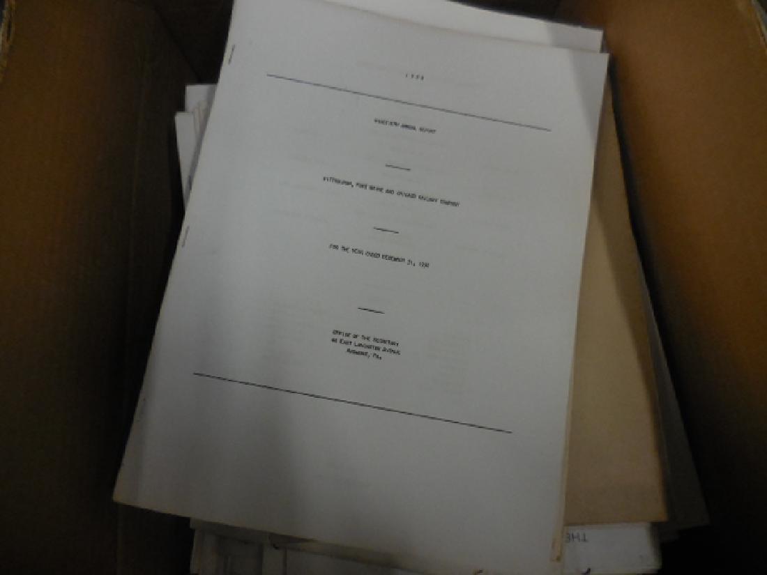 Railway Report Papers