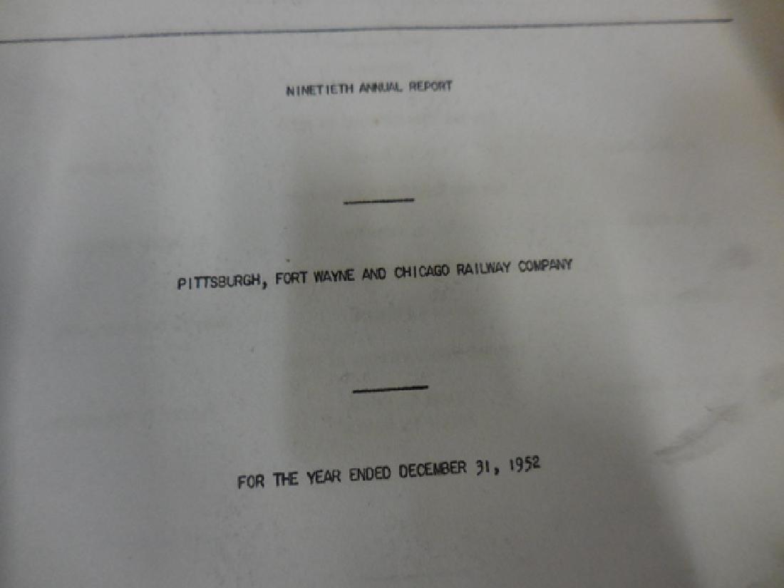 Railway Report Papers - 2