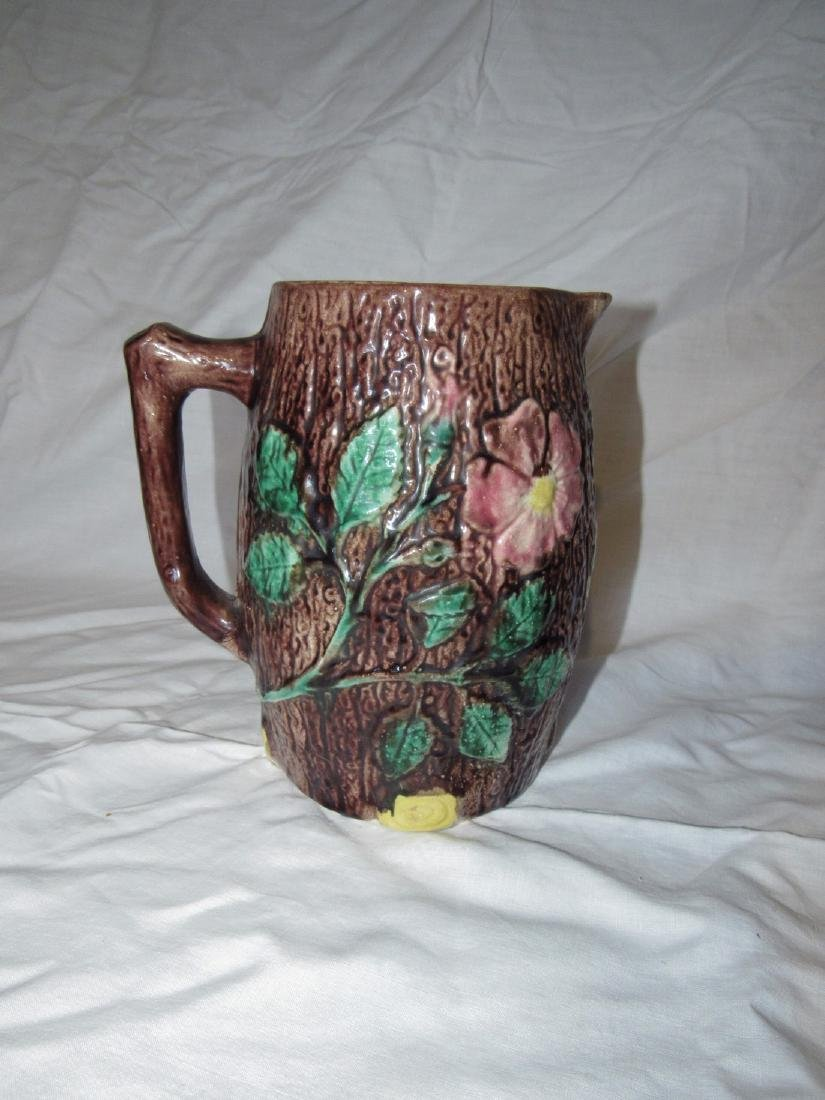 Majolica Pitcher - 2