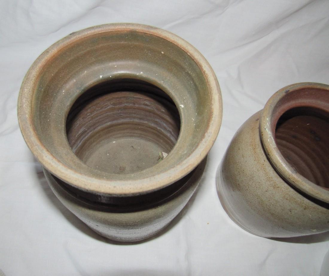 2 Stoneware Crocks - 3