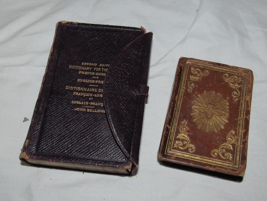 1842 Pocket Bible & 1900 Second Edition Dictionary