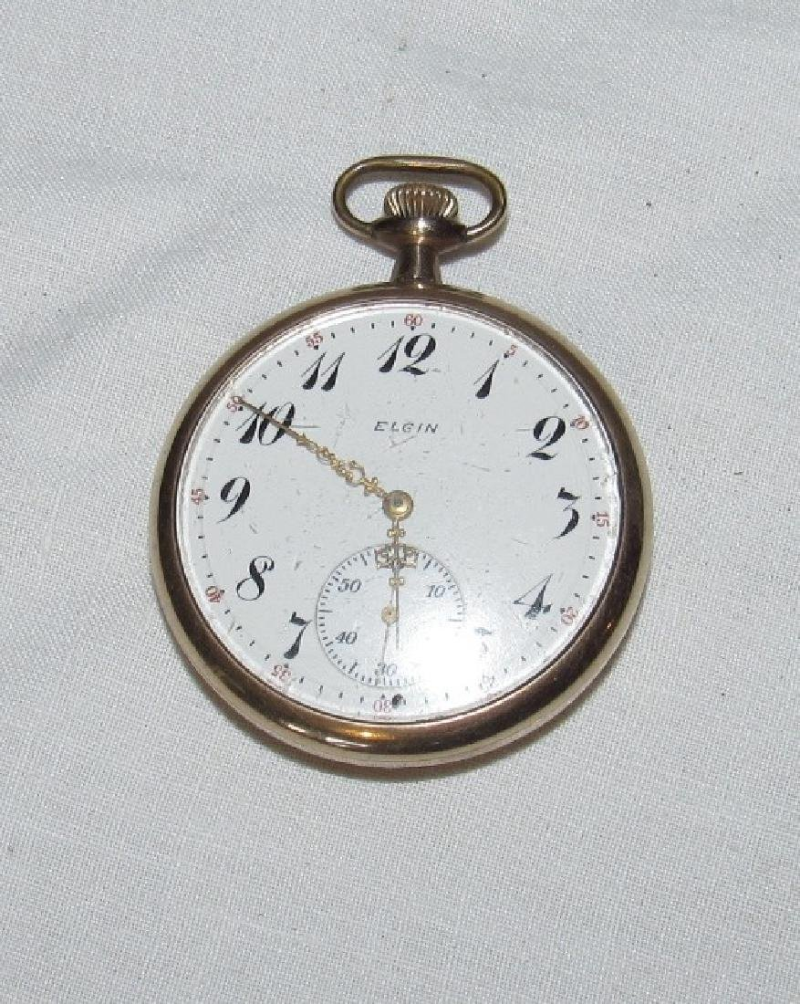 Elgin Pocket Watch w/ 20 Year Case