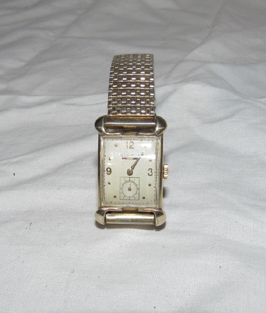 Benrus 18k Gold Filled Watch Hampton Fire Department - 2