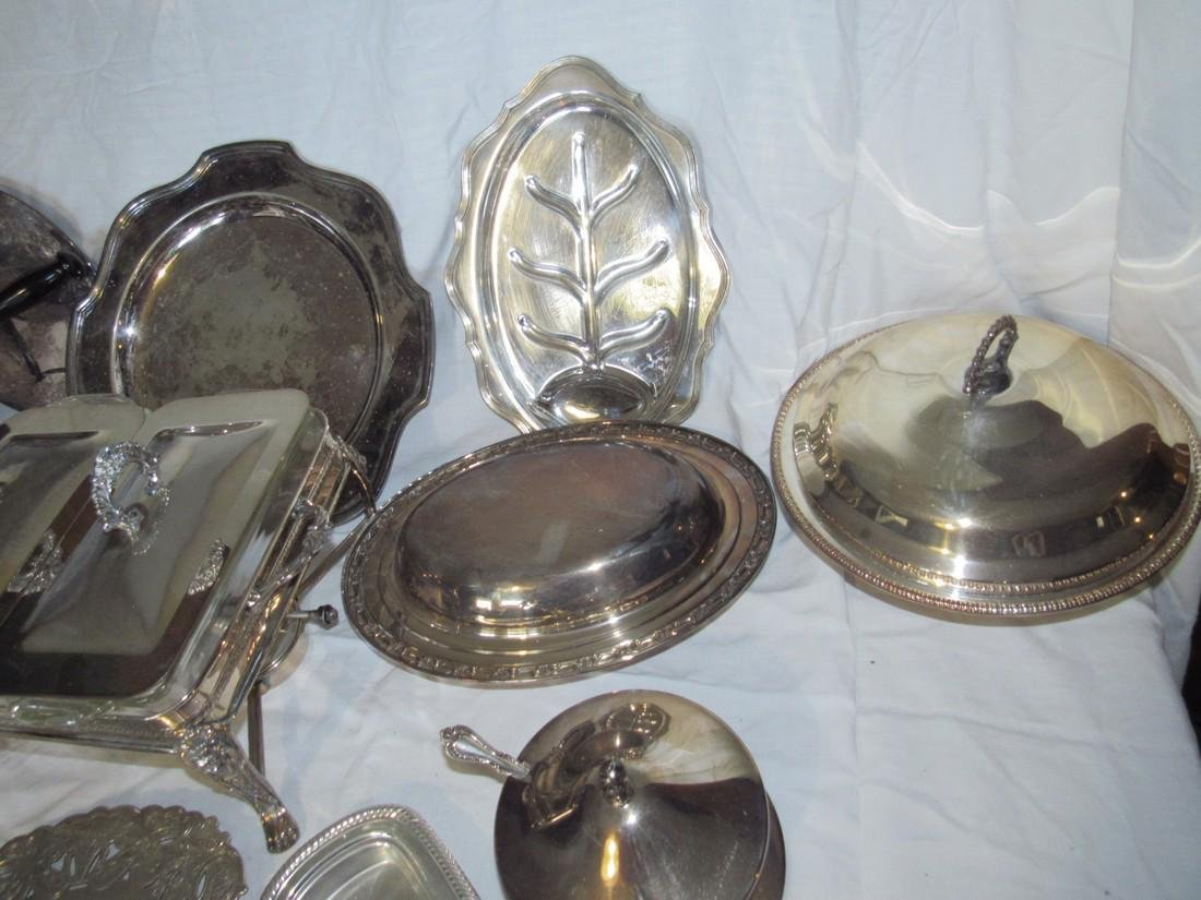 Large Lot of Silver Plate - 3