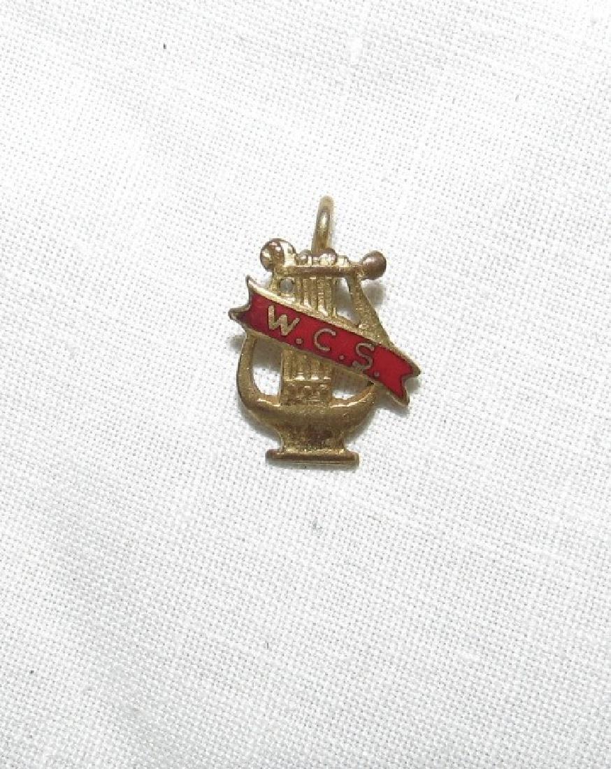 W&H Co. Locket W.C.S Charm - 4