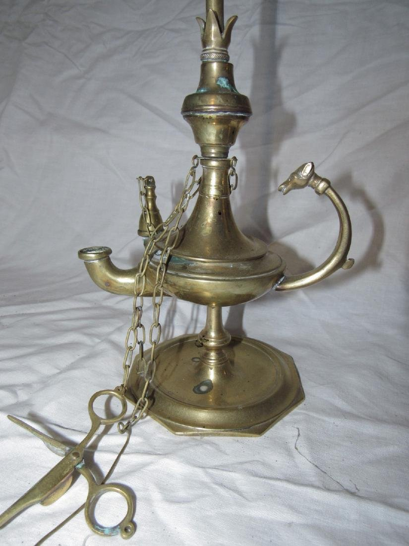 Brass Genie Lamp - 2