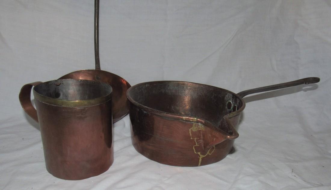 Copper Pan Dovetailed Cup & Ladle - 2