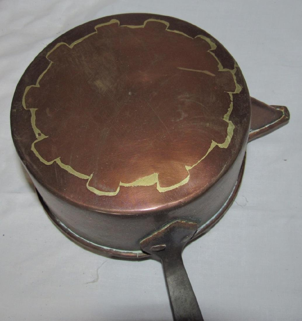 Copper Pan Dovetailed Cup & Ladle - 4