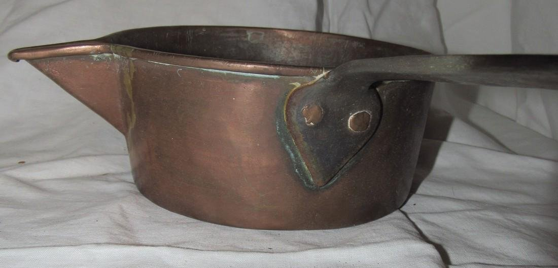 Copper Pan Dovetailed Cup & Ladle - 8